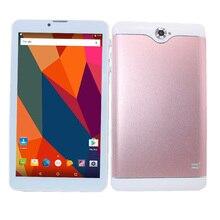 Galvey 7 pulgadas S7 MTK8321 Quad core Android 6,0 ranuras Dual SIM 3G teléfono llame a la tableta PC 1GB + 16GB Bluetooth WiFi Phablet