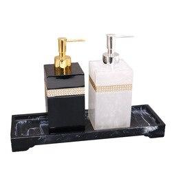 400ml  500ml  800ml żywica europejski żel pod prysznic dozownik do mydła balsam w butelce odkażacz do rąk szampon butelka z pompką wilgoci