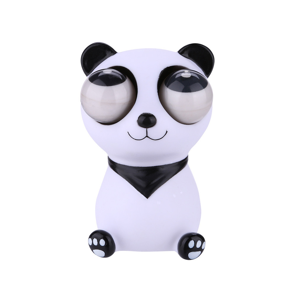 Novelties Toys Pop Out Stress Reliever Lovely Panda Squeeze Vent Toys Gift Toy Decompression Slow Rebound Toy #B