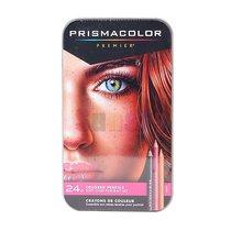 24 cor lapis cor do chumbo desenho lápis cor da pele retrato cor oleosa lápis artista sanford prismacolor premier cor lápis