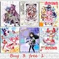 Puella Magi Madoka Magica аниме Винтаж крафт Бумага Бар Офис кафе дом декор плакат в стиле ретро из крафт-бумаги