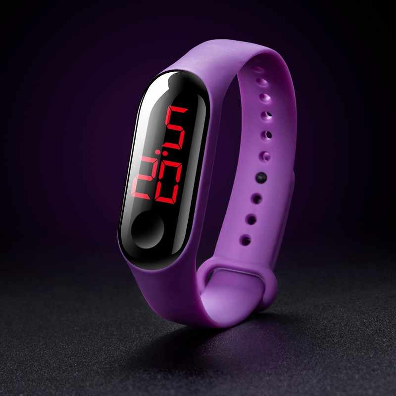 relogio feminino LED Sport Bracelet Watches Waterproof Touch Screen Women Watch Digital Electronic Silicone Wristband Wristwatch