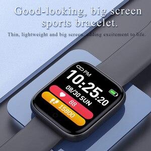 Image 2 - T85 스마트 워치 컬러 스크린 스포츠 심박수 혈압 산소 모니터링 음악 피트니스 트랙 팔찌