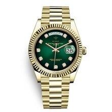 2019 new fashion watches men diamonds 40mm Japanese 21 Jeweles MIYOTA Movement s