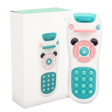 Baby Mobile Phone Projection Remote Control Early Educational Toys Electric Remote Learning Machine Toy Gift for Baby