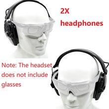 Тактические электронные наушники для стрельбы Защита слуха шумоподавление