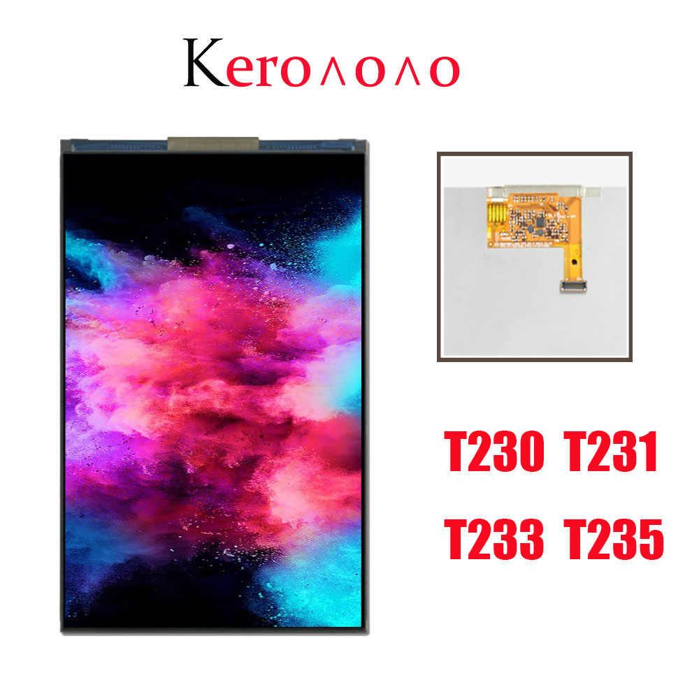 """7 """"لسامسونج غالاكسي تبويب 4 T233 T235 SM-T230 SM-T231 شاشة الكريستال السائل قطع غيار الشاشة"""