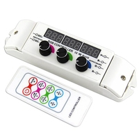 Bc 354 Cv Rgb Led Controller Rf Wireless Remote Control Knob Rotary Switch Rgb Strip Dimmer 18 Modes