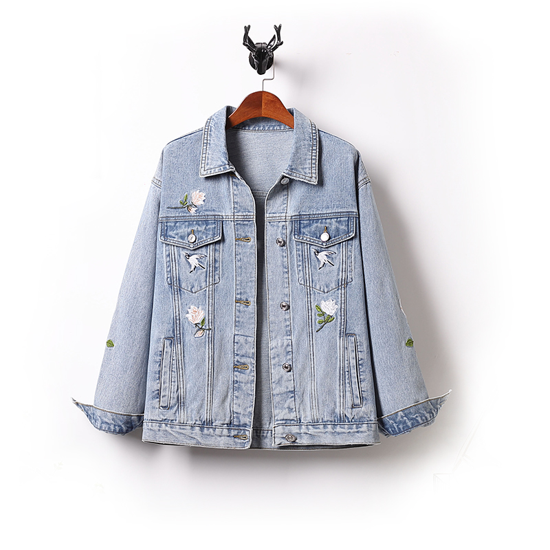 2020 spring summer autumn new women fashion casual Denim Jacket woman female Plus big size OL women coats and jackets Pq9025