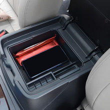 Auto Armlehne Box Storage Center Console Storage Box für Mitsubishi PAJERO V93 V97 V98 2007-2019(China)