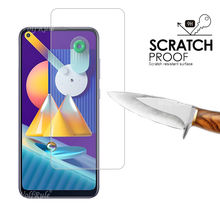 4-in-1 For Samsung Galaxy M11 Glass For Samsung A51 Tempered Glass For Samsung A51 A71 A31 A21S A11 A50S M21 M31 M11 Lens Glass