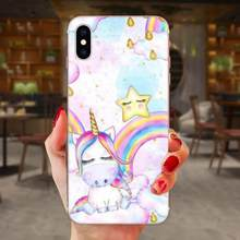 My Unicorn Silicone Skin Case For Xiaomi Mi3 Mi4 Mi4C Mi4i Mi5 Mi 5S 5X 6 6X 8 SE Pro Lite A1 Max Mix 2 Note 3 4(China)