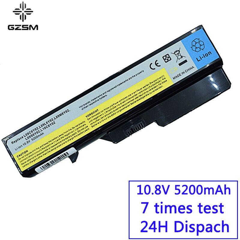 GZSM Laptop Battery G460 L09C6Y02 L09L6Y02 For Lonovo L09M6Y02 L09N6Y02 L09S6Y02 Battery For Laptop L10C6Y02 L10M6F21 Battery