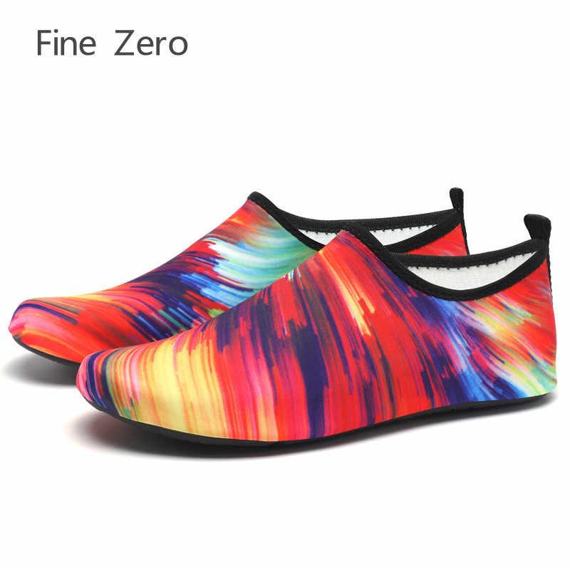 Dzieła Zero 13 style duży rozmiar 35-46 joga do nurkowania człowieka i weomen buty plażowe Aqua trampki do pływania kapcie pływać buty do wody mnie