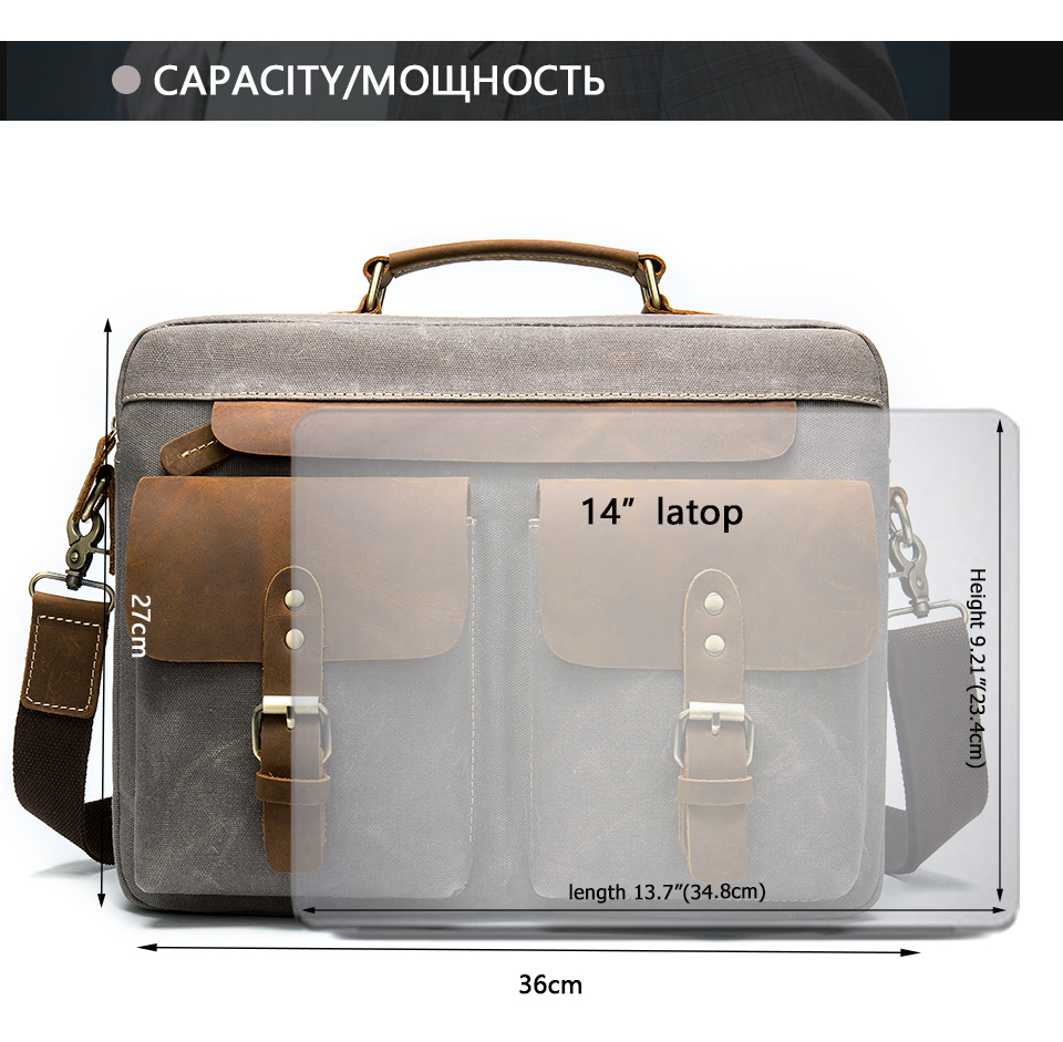H1300974a49b347a98c8a18cca9d41af28 WESTAL Men Briefcases Men's Bag Genuine Leather Business Office Bags for Men Laptop Bag Leather Briefcases Male Lawyer Bags