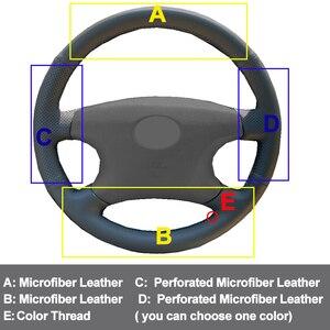 Image 3 - Carro auto volante capa envoltório de couro artificial para toyota camry 2002   2004 avalon 2002   2004 highlander 2001   2003