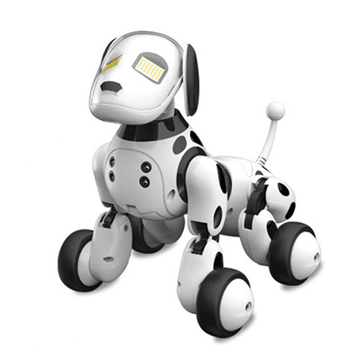 DIMEI 9007A 2.4G télécommande sans fil Smart Robot chien enfants jouet Intelligent parlant Robot chien jouet électronique Pet cadeau d'anniversaire