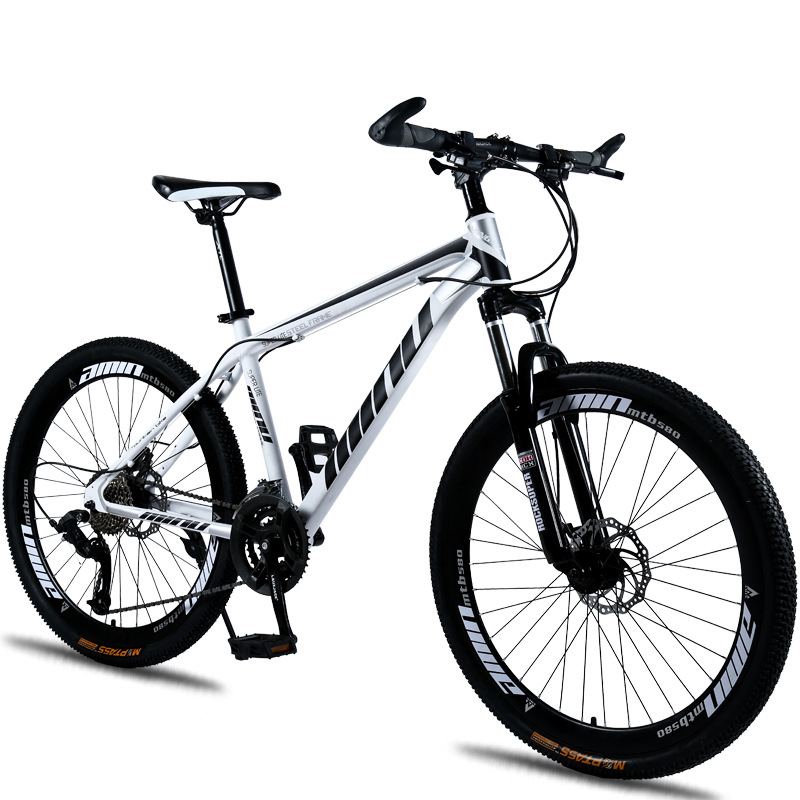 Mountain Bike Disc Brake Shock Absorption 21/24/27/30 speeds Disc brakes Fat bike 26 inch 26x4.0 Fat Tire Mountain Snow Bicycle image