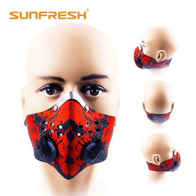 Anti-dust Anti-Pollution Mask,Half Face Ski Snowboard Bike Motorcycle Cycling Mask Washable and Reusable Neoprene Half