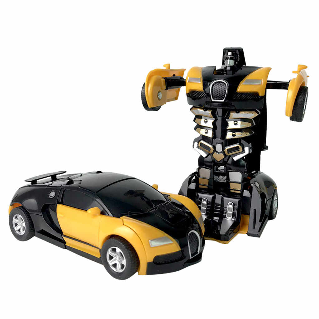 1:32 Pull Back De Botsing Auto Kinderen Vervorming Auto Robot Speelgoed Voor Kinderen Gebaar Sensor Speelgoed Cadeau Voor Kinderen Controle # E30