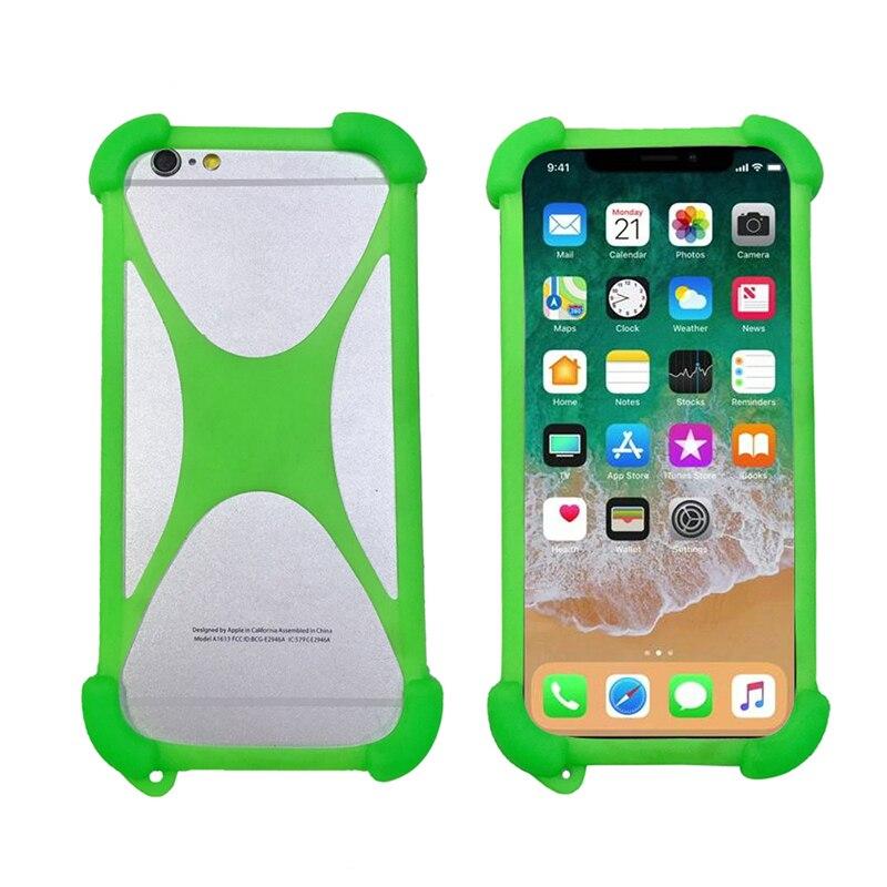 Silicone Case For Ginzzu S5050 Soft Bumper Rubber Mobile Phone Case For Ginzzu S5050 Universal Cases(China)