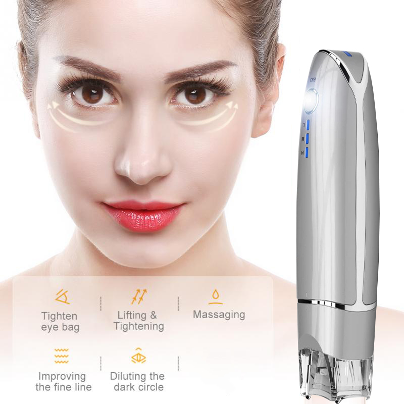 Mini Hifu BB Eyes Face Lifting Beauty Instrument Device Remove Wrinkles Dark Circles Puffiness Relaxation EMS Eye Massager