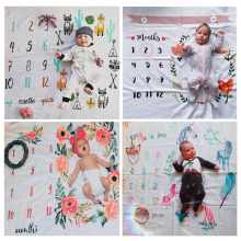 Mat Rug-Accessories Backdrop-Cloth Photo-Blanket Background-Diaper Growth-Props Milestone