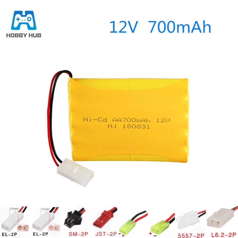 MeGgyc 12v aa 700mah battery pack for RC boat model car lighting 12v aa 700mah rechargeable battery