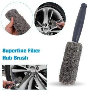 Image 5 - 9ชิ้น/เซ็ตล้างรถทำความสะอาดเครื่องมือฟองน้ำผ้าเช็ดตัวถุงมือแปรงApplicatorหนาทำความสะอาดPad
