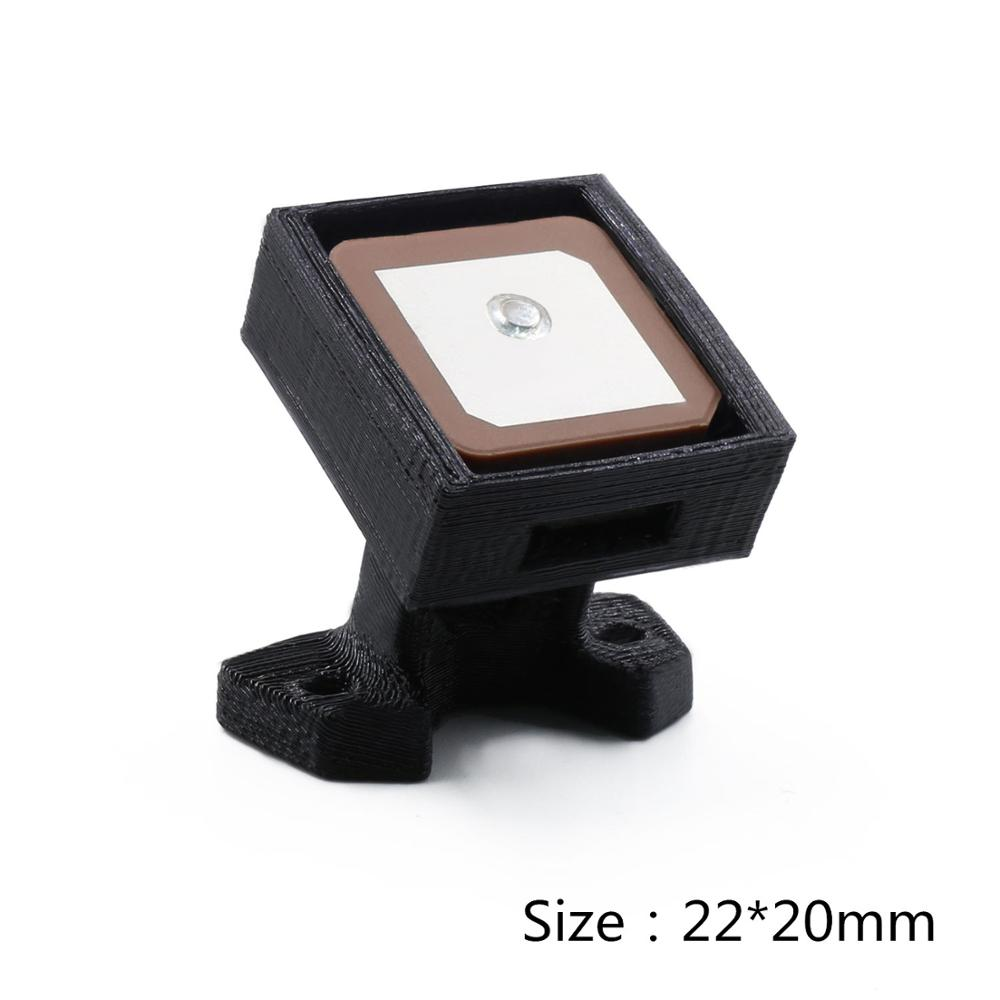 3D Print Parts GPS Module Mounting Bracket Seat Mounting Box Black For GEPRC-Mark4 HD5 Drone