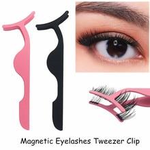 5pcs Lash Tweezers Eyelash Curler Fake Eye Lash Applicator M