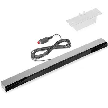 Przewodowy czujnik podczerwieni IR czujnik promieniowania Bar odbiornik na Wii zdalne kontrolery gier akcesoria do gier tanie i dobre opinie SD HI CN (pochodzenie) Nintendo for wii