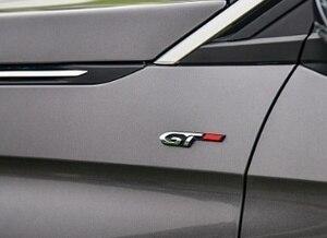 Image 2 - Авто 3D эмблема наклейка значок GT дизайн для peugeot