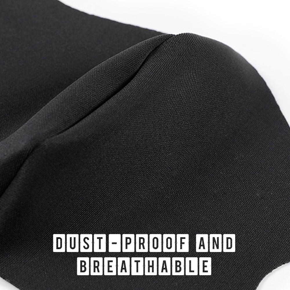 1pc maska za ustnice PM2.5 proti meglici črna maska - Orodja za nego kože - Fotografija 4