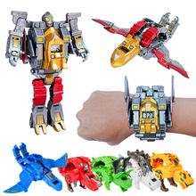 Steel Dragon Shape-shifting Robot Children Watch Ultraman The Boy Children Toy D