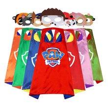 Conjunto de juguetes de la patrulla canina para niños, máscara, capa, Cosplay, dibujos animados, regalos de cumpleaños, decoración para fiesta de Navidad