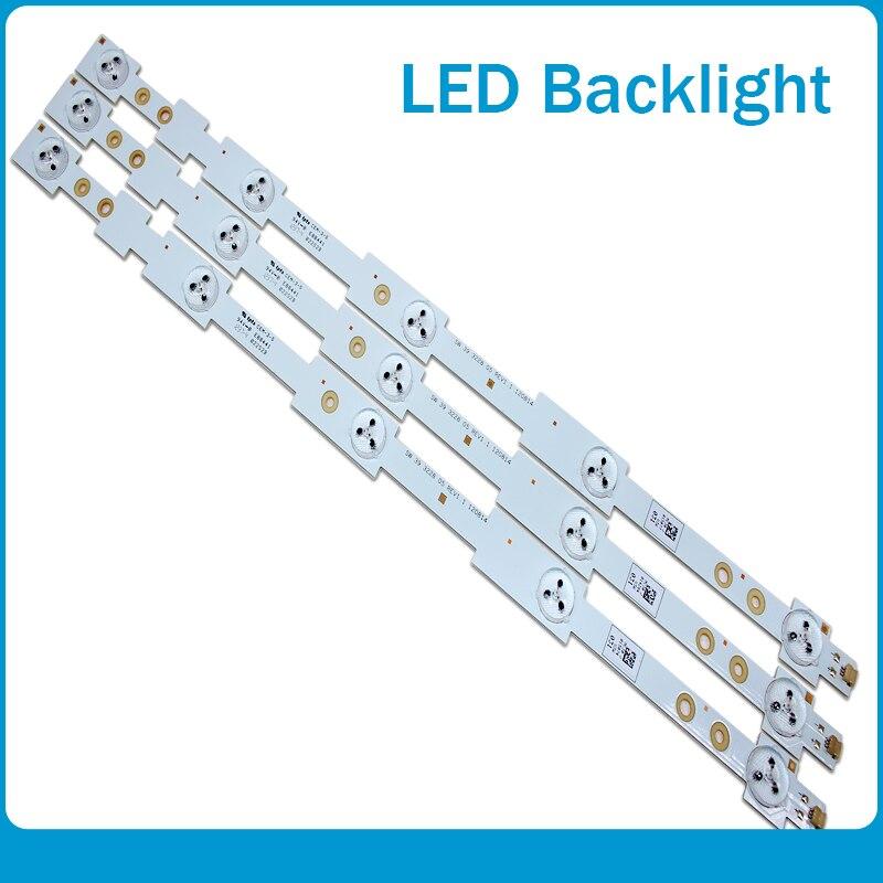 39'' 42cm*2cm LED Strips SW3228 W/ Optical Lens Fliter Large Size For TV Panel Backlight Lamps Original New