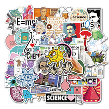 Sticker Chemical-Programming-Stickers Waterproof for 50pcs/Lot Stationery Phone-Suitcase
