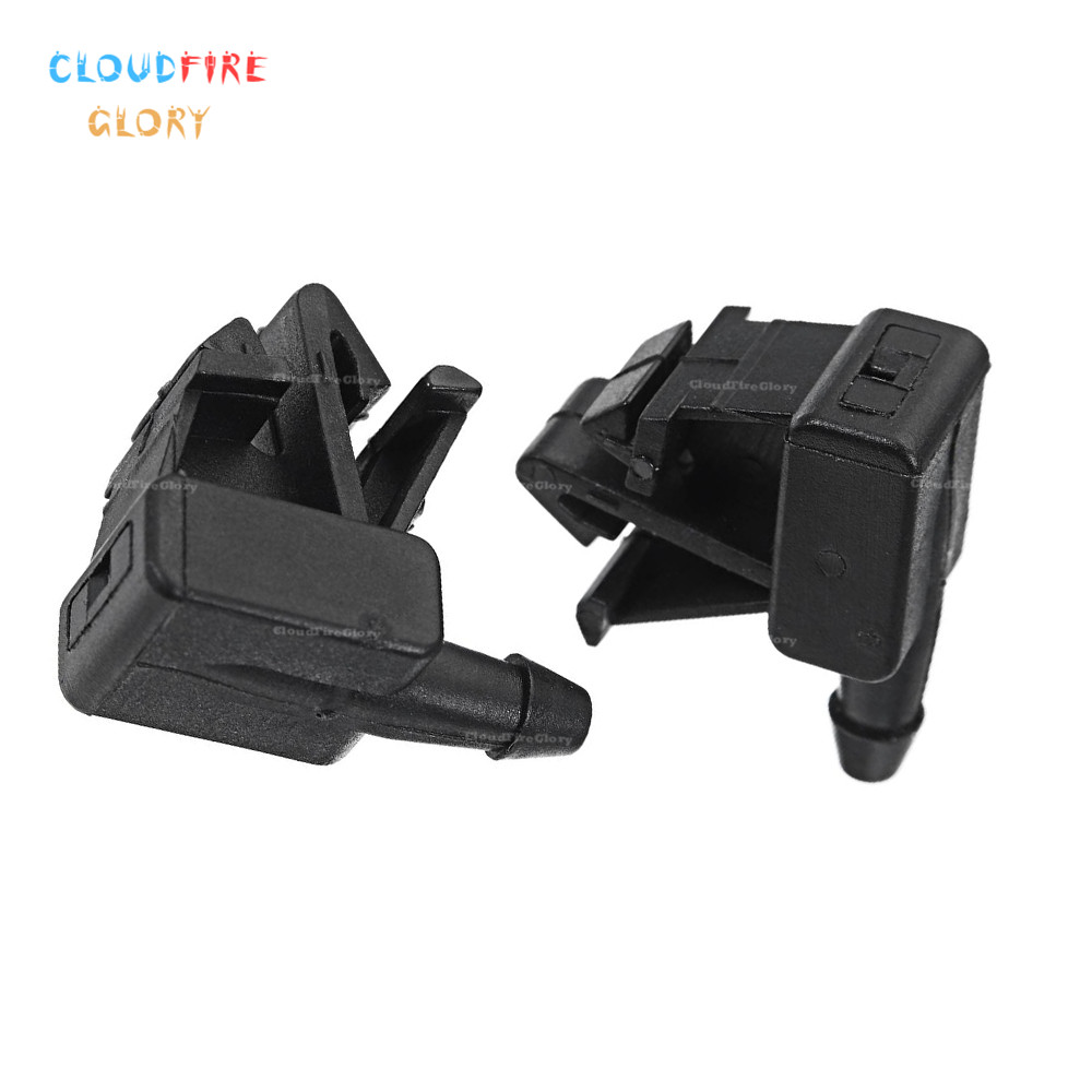 2Pcs New Windshield Washer Nozzle For <font><b>Citroen</b></font> <font><b>Berlingo</b></font> B9 Box MPV <font><b>2008</b></font> 2009 2010-2017 DS5 2011 For Peugeot Ranch Grand <font><b>2008</b></font> image