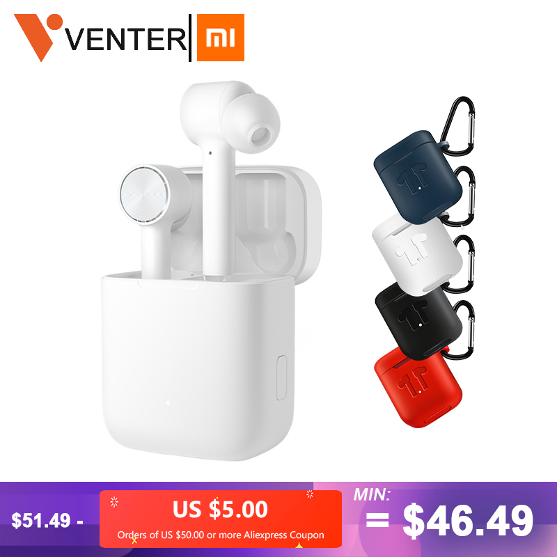 Xiaomi Airdots Pro TWS Wireless Bluetooth Earphone ANC Switch ENC HD Auto Pause Tap Control For Ios & Android