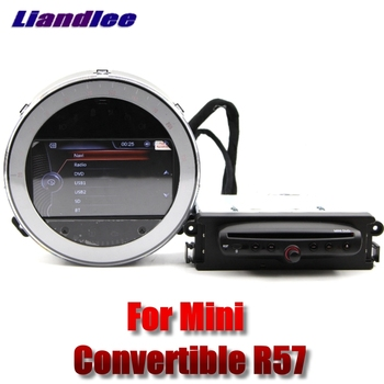 Liandlee Car Multimedia Player NAVI For Mini Convertible R57 Navi 2009~2017 Original Style DVD Car Radio Stereo GPS Navigation