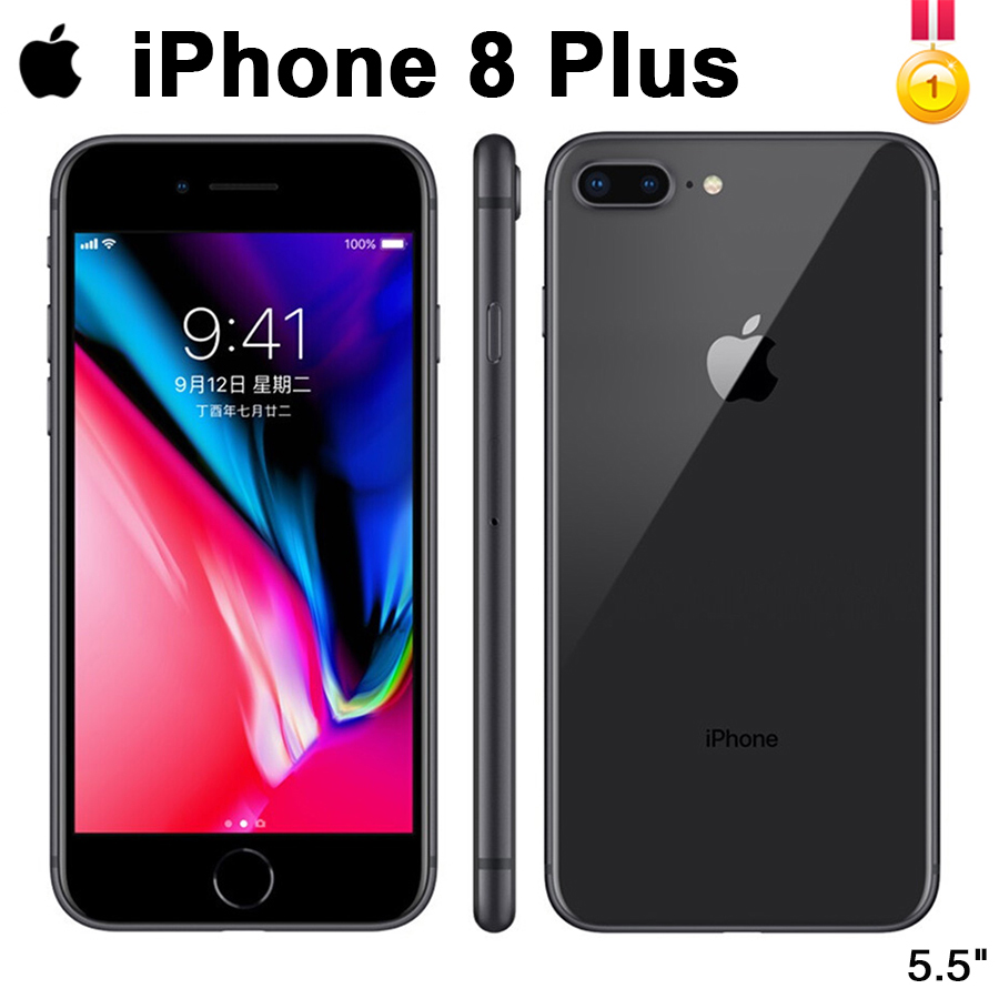 Original Unlocked Apple IPhone 8 Plus LTE Mobile Phone 3GB RAM Hexa Core 12.0MP 5.5