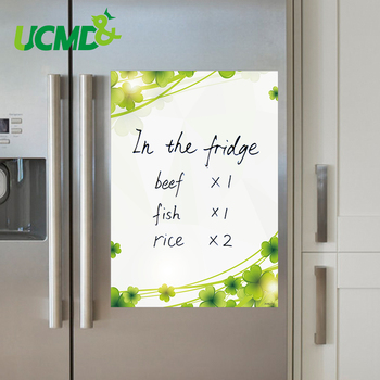 A4 Size Magnetic Writing Board Flexible Fridge Refrigerator Whiteboard Drawing Remind Memo Record Message Boards With Free Gifts 4pcs lot flexible fridge magnets whiteboard kids reusable drawing writing message board note pad refrigerator magnetic sticker