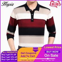 Wysokiej jakości sweter z wełny kaszmirowej mężczyzn znanych marek odzież moda biznesowa duże w paski skręcić w dół kołnierz sweter Homme 66127