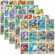 60Pcs/set Vmax Tag team EX Mega GX Shining Pokemon Cards Battle Game Cartoon Kids Collection Toys
