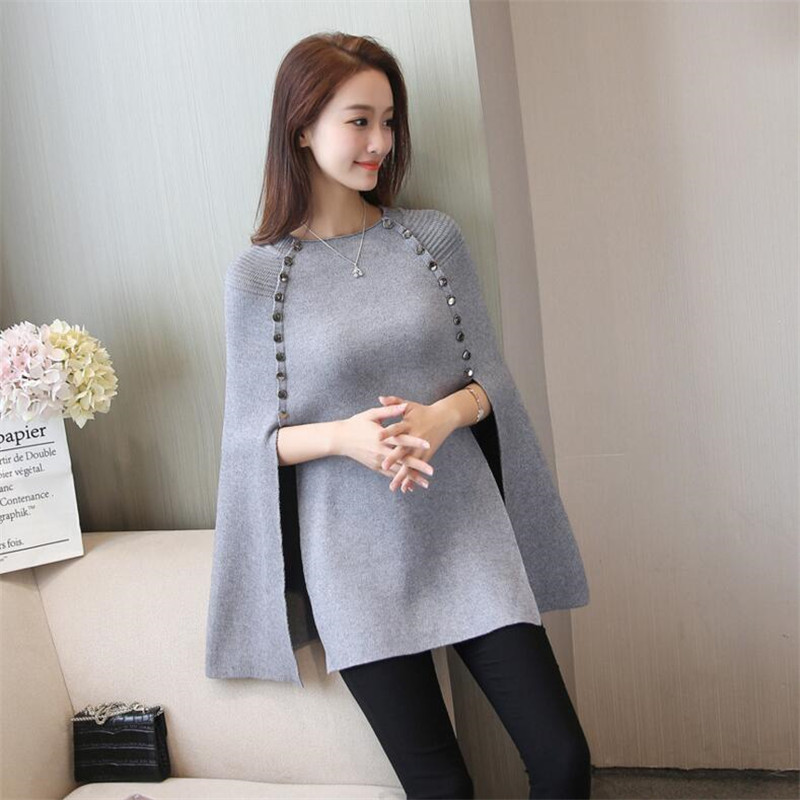 2019 New Winter Women's Blouses Wool Sweater Warm Spring Autumn Winter Casual Sleeved Pullover
