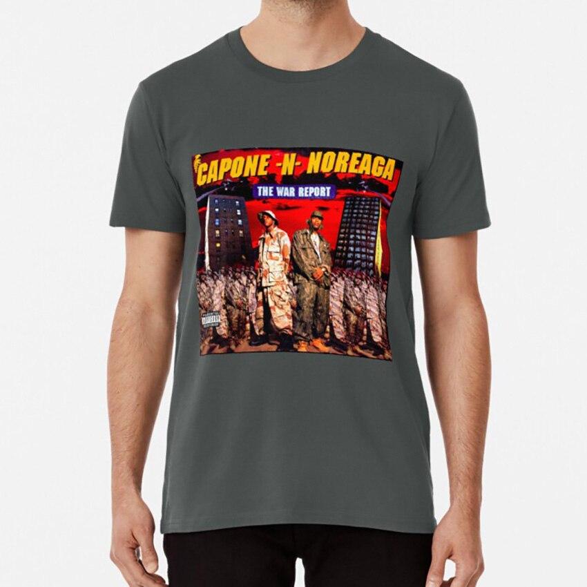 The War Report T Shirt Capone Noreaga Hiphop Rap Music Cute Style Sticker Hardcore Queens