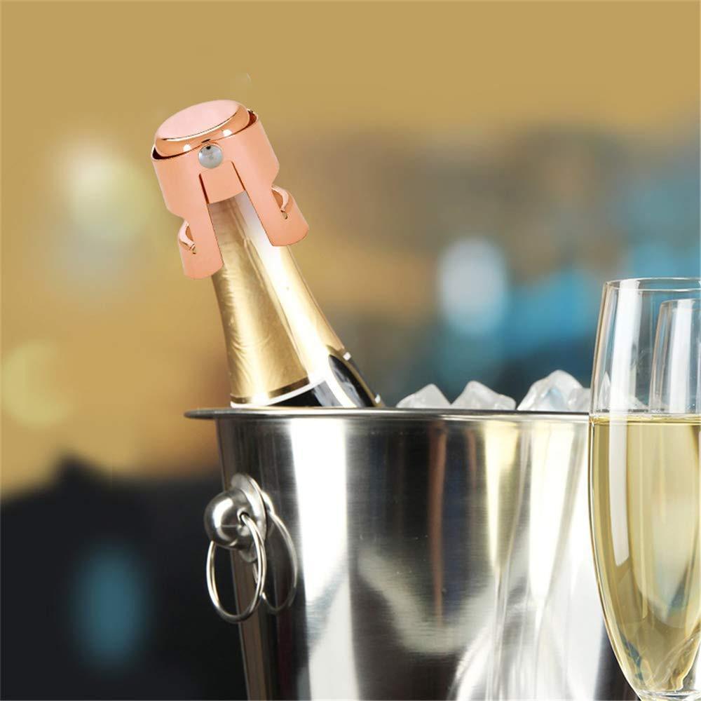 Silver Champagne Cork Keeper