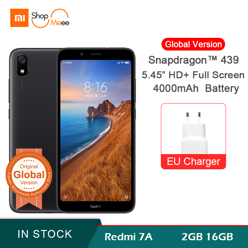 Global Version Xiaomi Redmi 7A 2GB RAM 16GB ROM 5.45