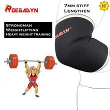 Roegadyn Professionele Gym 7/5Mm Neopreen Elleboog Pads Voor Sport Verschillende Soorten Elleboog Pad Protector Fitness Elleboog Ondersteuning mouw